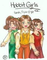 Hobbit Girls by KatieHobbit