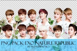[PNG PACK] EXO Nature Republic by ArdeliaExotics