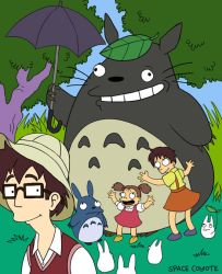 Dysfunctional Neighbour Totoro by spacecoyote
