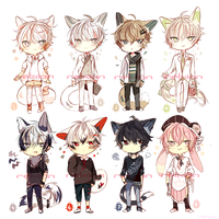 [closed] LineHeart Adopt*1 by Relxion-kun