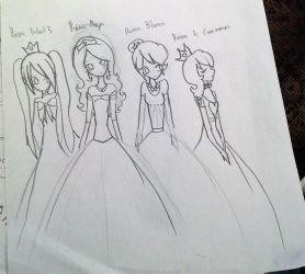 The four queens (vocaloid crossover)(by luna) by Princess15eevee