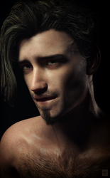Character Overhaul: Gryden Dromedes by just-trish