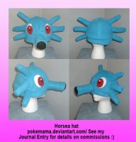 Horsea hat by PokeMama