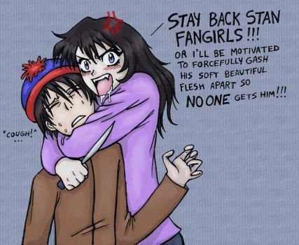 Stay back, STAN FANGIRLS by Zombie-Pip
