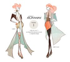 PROJECT RUNWAY Week 1: Couture to Ready-To-Wear by i-anni
