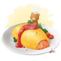 Omurice by Maygreen