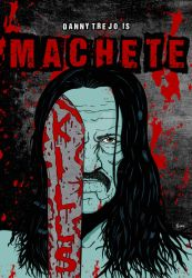 Machetem-kills-poster-tribute by rafgraphicart