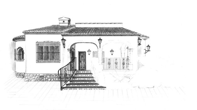 Spanish house 4 by van27
