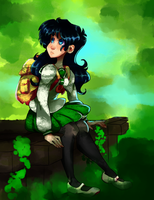 Black Tights Kagome by pantyslime