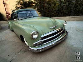 Patina Green Chevy by Swanee3