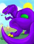BARNEY GONE WILD by nyausi