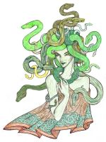 Medusa by DragonsHeir