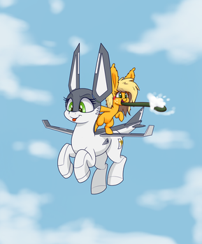 Cloud hunting by Heir-of-Rick