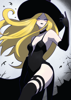 Kolin in a Witch Costume by unousaya