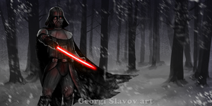 Dramatic Vader by G-manbg