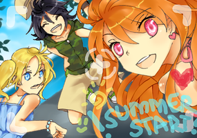 Summer Story by xadako
