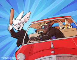 Road Rage! by DrFoxes