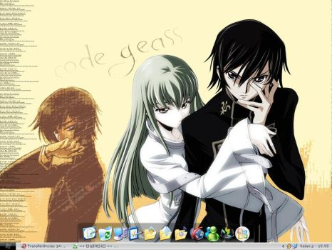 Code Geass Desktop by halanprado