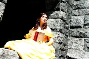 Princess Belle Cosplay - Beauty Is Found Within by SparrowsSongCosplay