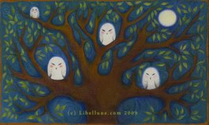 Owl Tree by Neyrelle