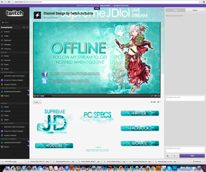 Twitch Channel Layout for SupremeJDlol by ciael