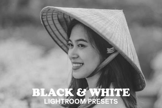 6 Free Black and White Collection Lightroom Preset by symufa