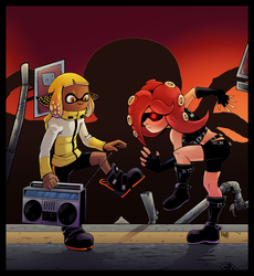 Rock the Casbah (Squid Style!) by JCM-Roxy