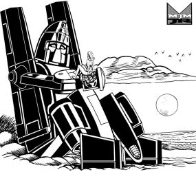 Powerglide and Astoria by wondermanrules