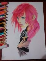 Lightning | Final Fantasy XIII by victordcrodrigues