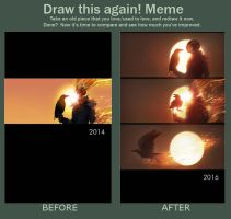 Draw This Again MEME 2 by RoeeateR