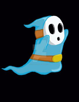 Shyguy ghost by cycoclash25