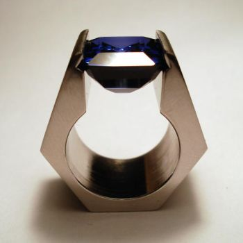 blue angle...side view by noformdesign