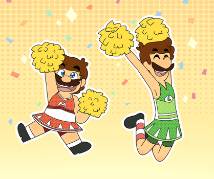 Cheer Cheer! by Winterwithers