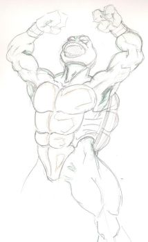 Raph SMASH by MicktheUnbelievable