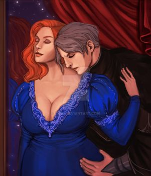 Commission: Alexander and Josianna by Enife