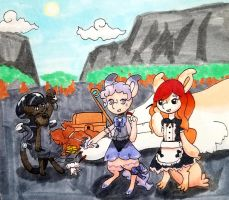 Whimsy and Lore's Adventure Trial (step Three) by AthenaCykes