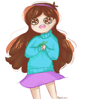 a very excited mabel by 6oys