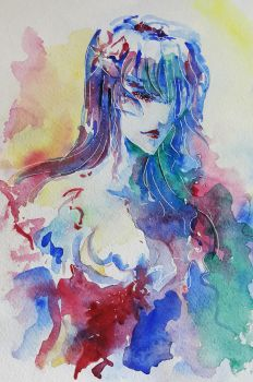 Old watercolors by Aiuke