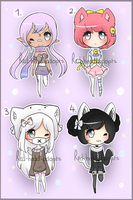 Adopts - CLOSED by Red-head-adopts