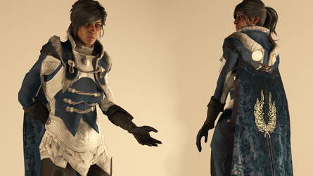 Warden-Commander Cousland -  Finery Outfit by raubkruemel