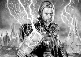 THOR aka Chris Hemsworth, Avengers by Mim78