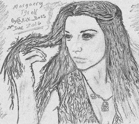 Margaery Tyrell Sketch #1 (Game Of Thrones)  by Mick81