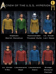 Crew Of The Hyperion by celticarchie