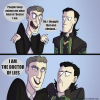 Loki'n'TheDoctor - WHAT KIND OF DOCTOR ft. 12th by InvaderShego