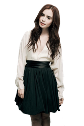 Lily Collins Png 01 by divergensea