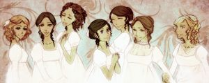 Austen girls by palnk
