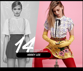 Photopack 123 // Abbey Lee by HQSource