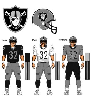 Oakland Raiders Concept 2.0 by TheGreatKtulu