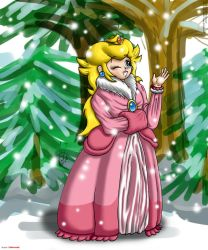 Winter Peach by hope-n-forever