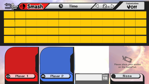 Super Smash Bros Wii U Character Roster Base by Mathew-Swift-VA